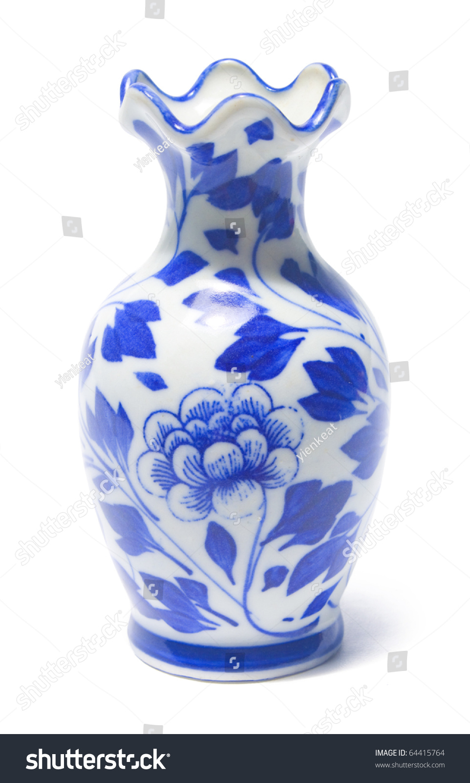 Chinese antique vase clipping path included stock photo 64415764 chinese antique vase clipping path included reviewsmspy