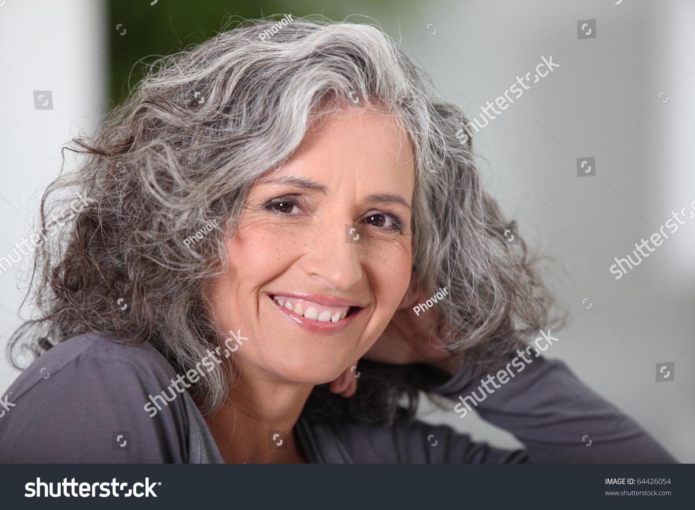 Portrait senior woman smiling stock photo 64426054 shutterstock