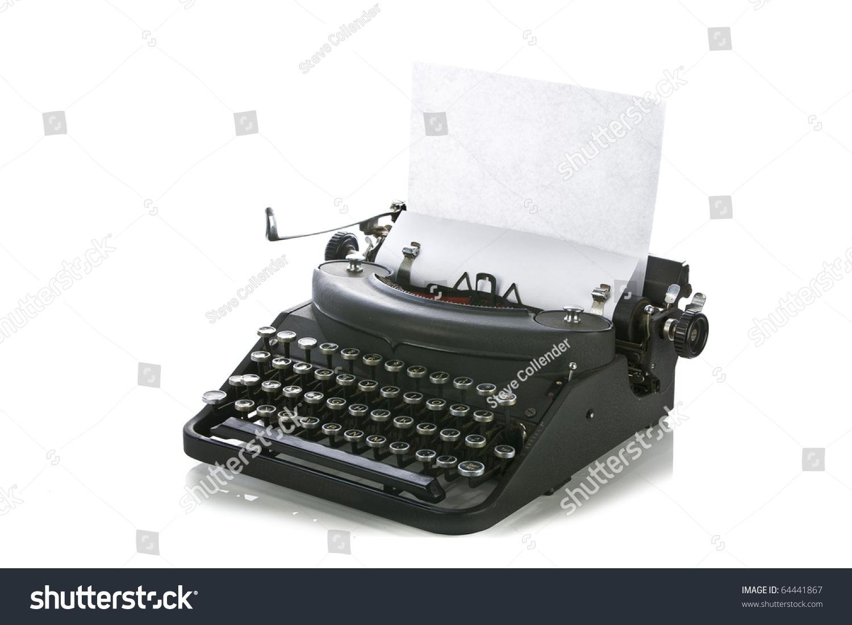 Vintage Portable Typew... Vintage Typewriter Paper Photography