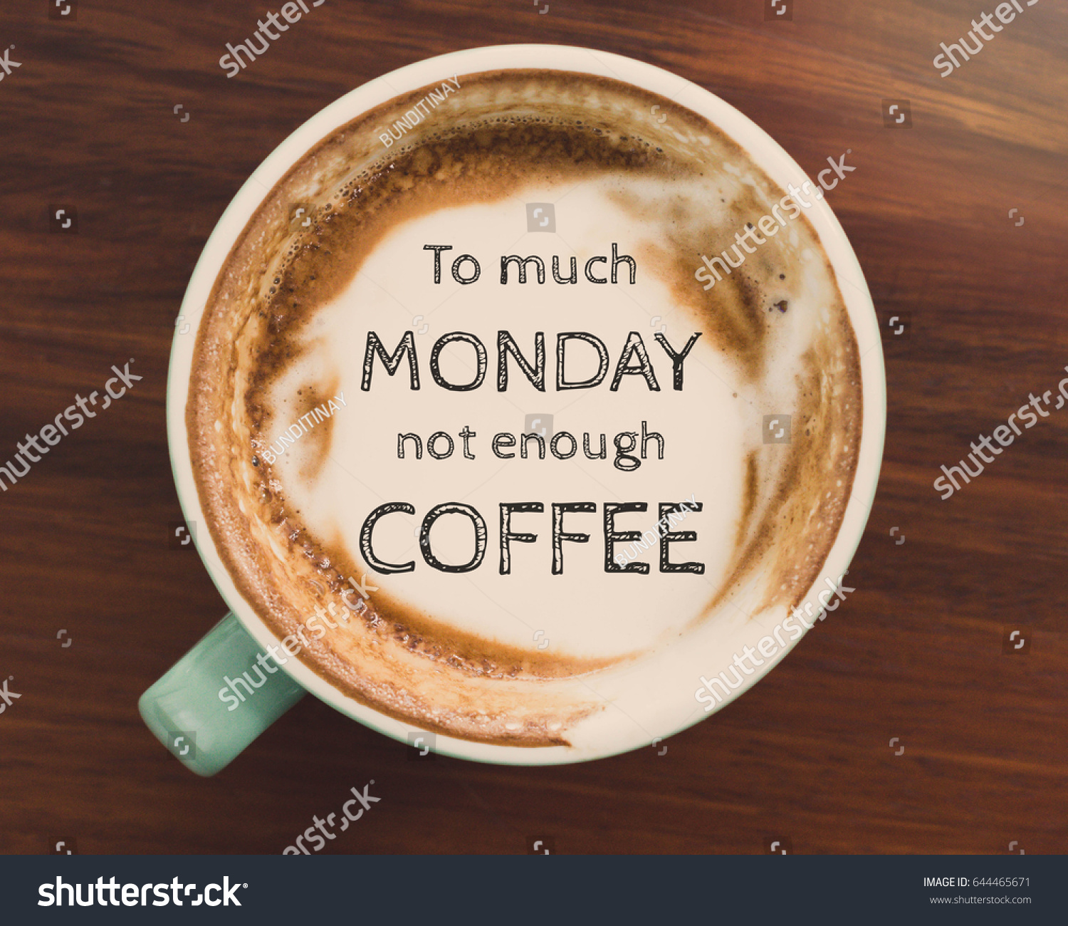 Inspirational Quote On Coffee Cup On Wooden Table Background With Vintage  Filter Pictures Gallery