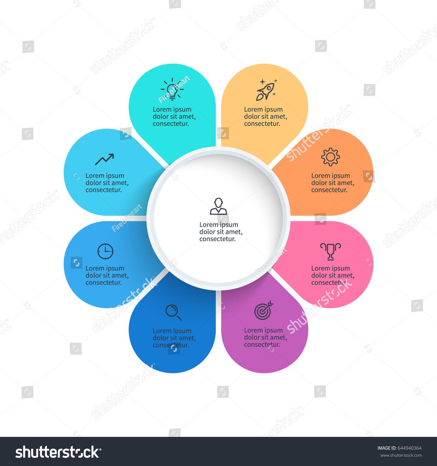 Business infographics pie chart 8 steps stock vector 644940364 pie chart with 8 steps sections vector infographic element nvjuhfo Gallery