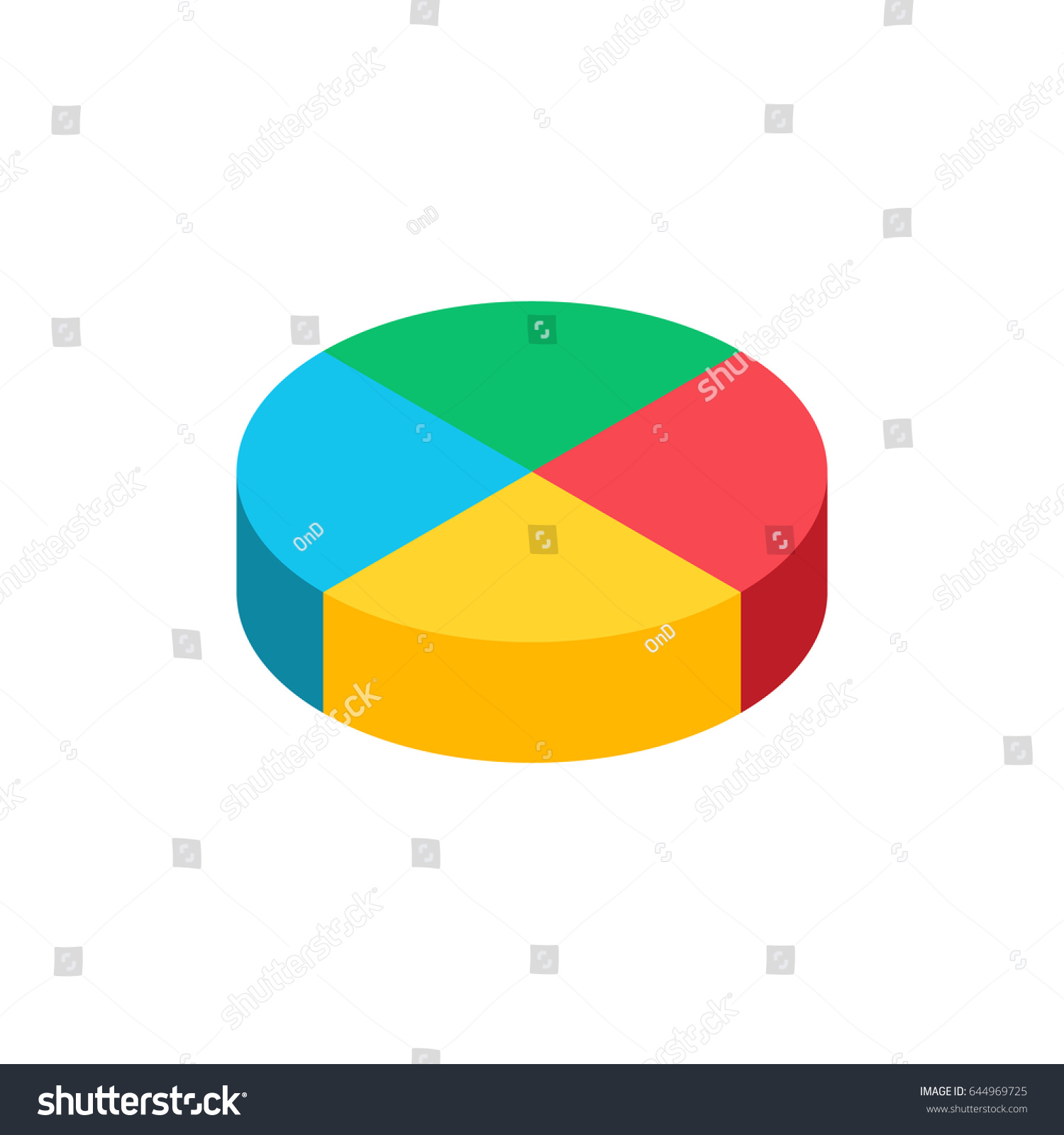 Bulk isometric pie graph template realistic stock illustration bulk isometric pie graph template realistic stock illustration 644969725 shutterstock nvjuhfo Gallery