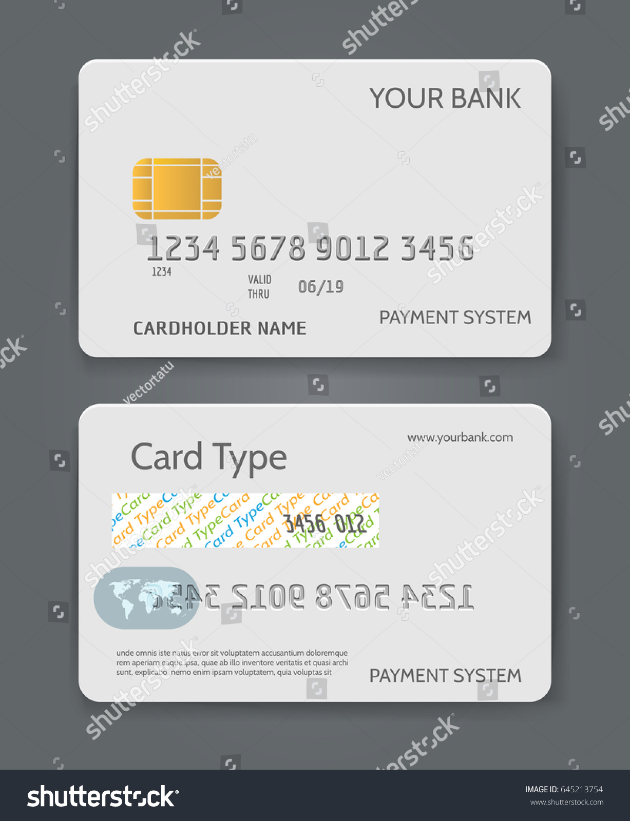 American express card for business choice image free business cards credit cards for business gallery free business cards bank credit card white template vector stock vector magicingreecefo Images