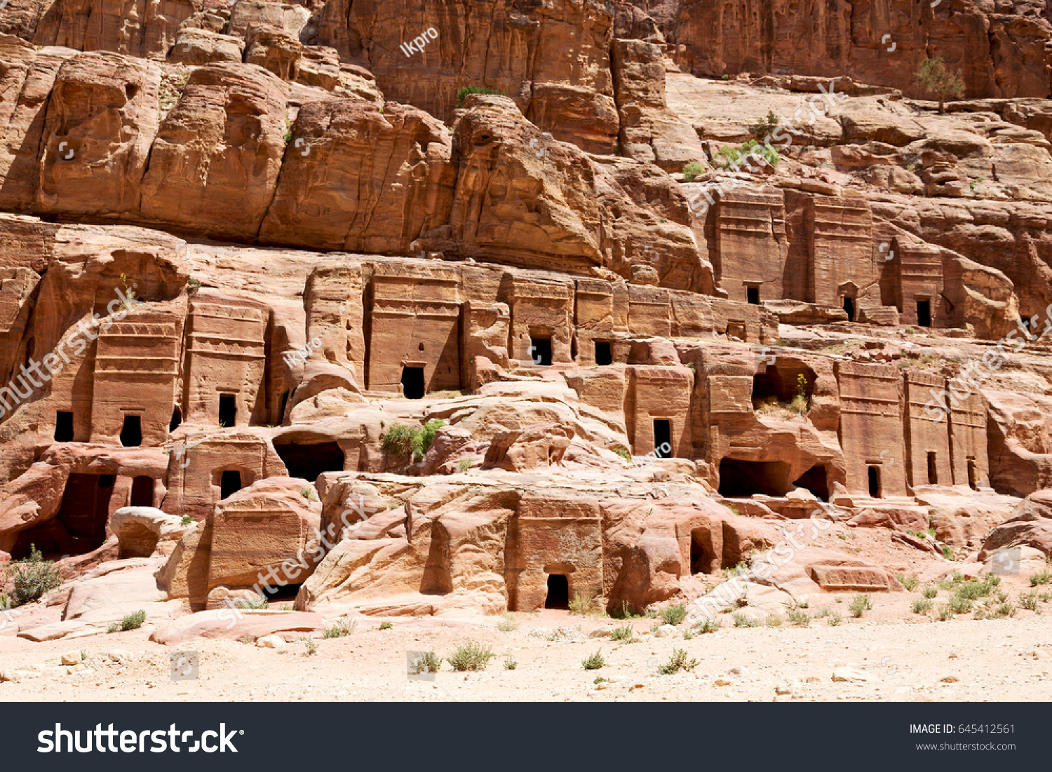 The ancient city, the capital of Idumea (Edom), later the capital of Nabatean 10