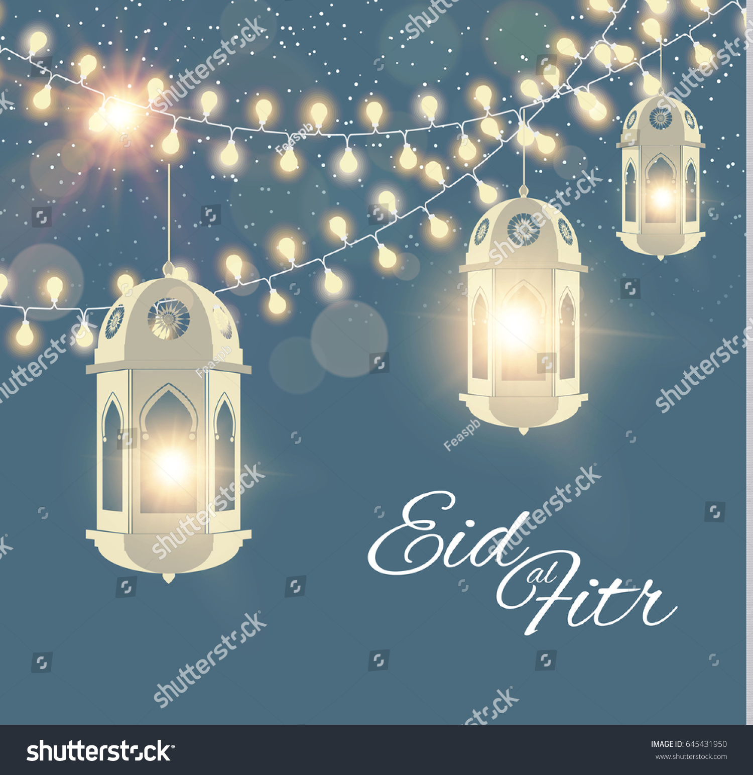 Most Inspiring Eid Mubarak Eid Al-Fitr Feast - stock-vector-eid-al-fitr-islamic-holiday-muslim-feast-eid-mubarak-ramadan-kareem-eid-said-shining-lanterns-645431950  HD_364298 .jpg