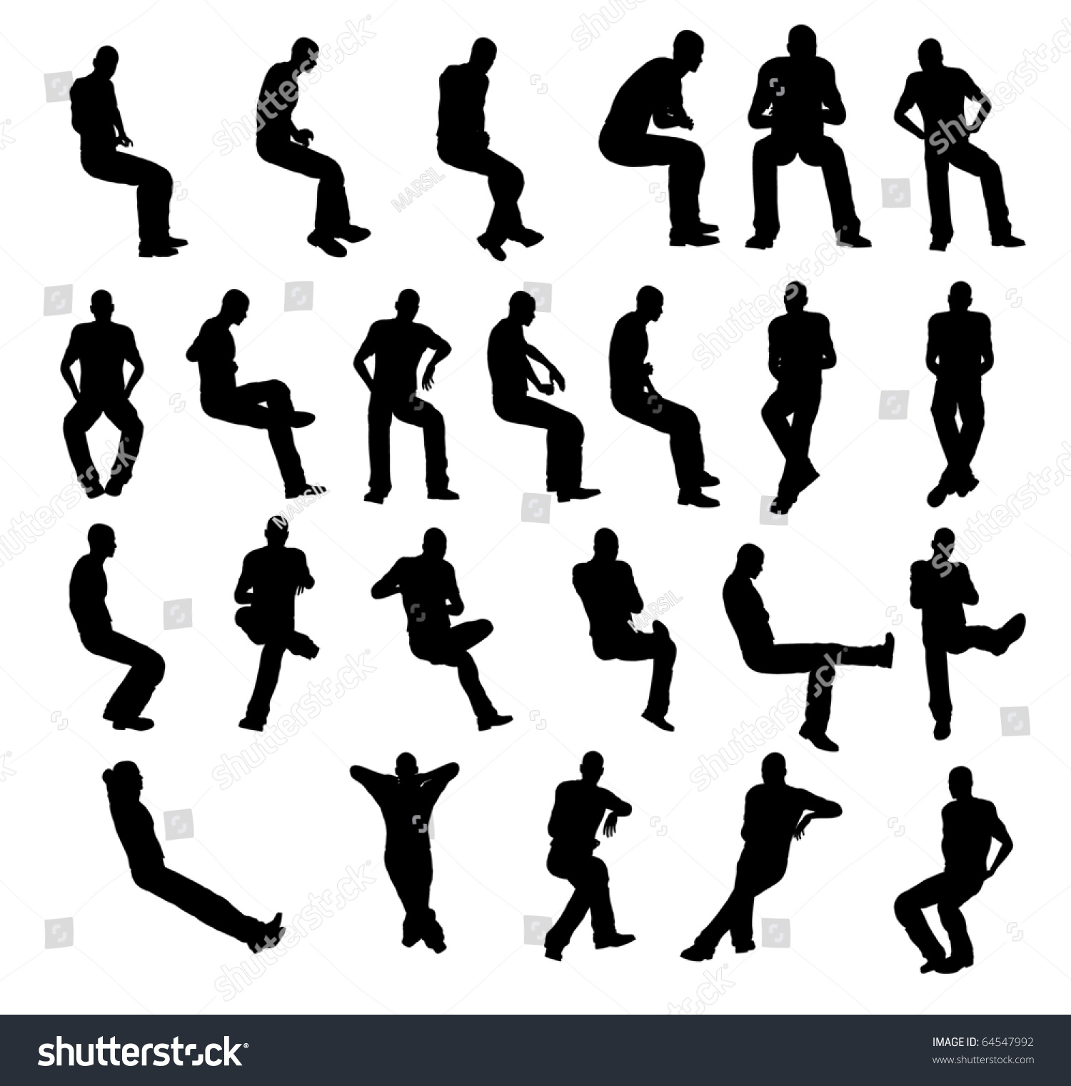 Silhouette Man Sitting Stock Photo 64547992 : Shutterstock Relaxing Dog Music