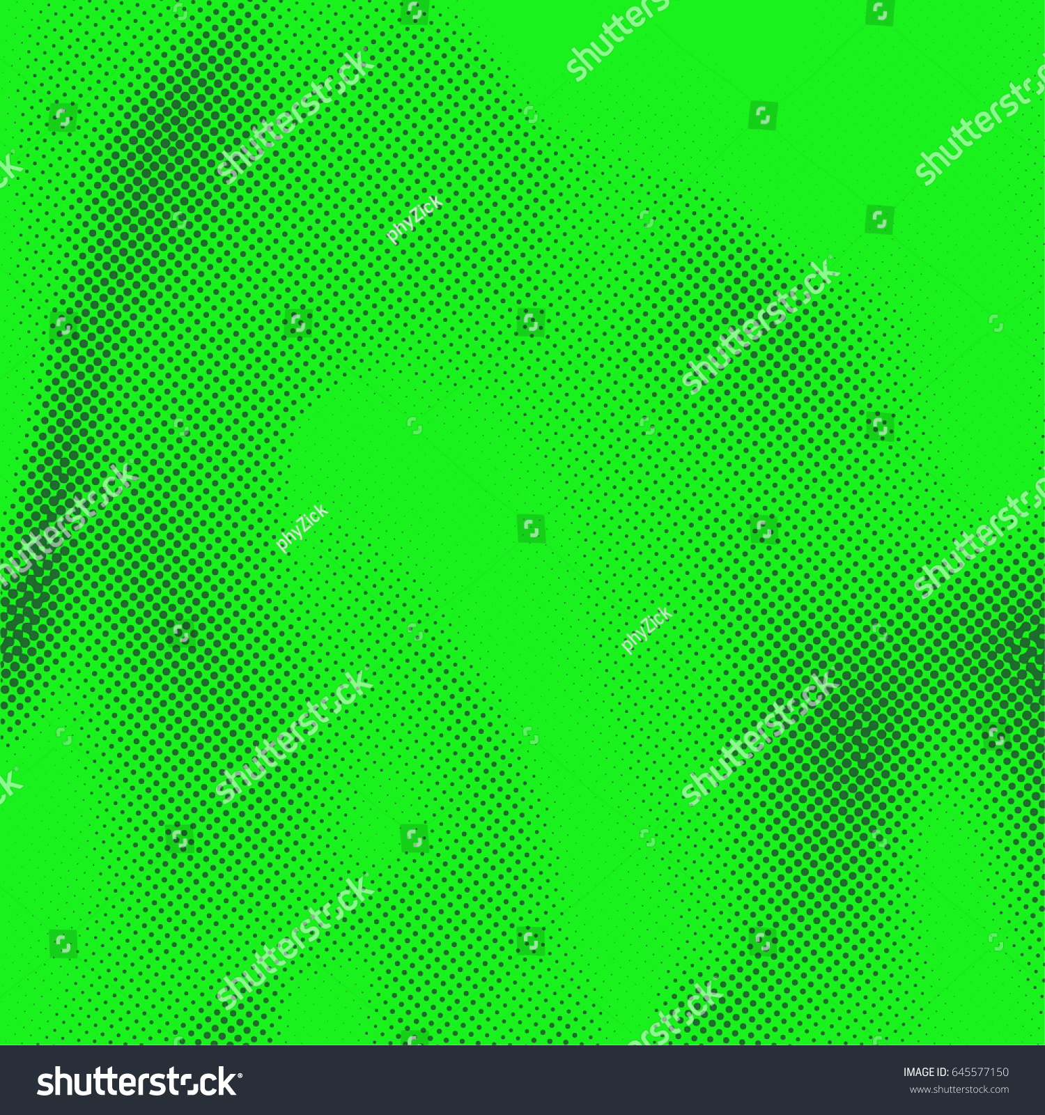 Green Distressed Abstract Comic Book Style Stock Vector 645577150