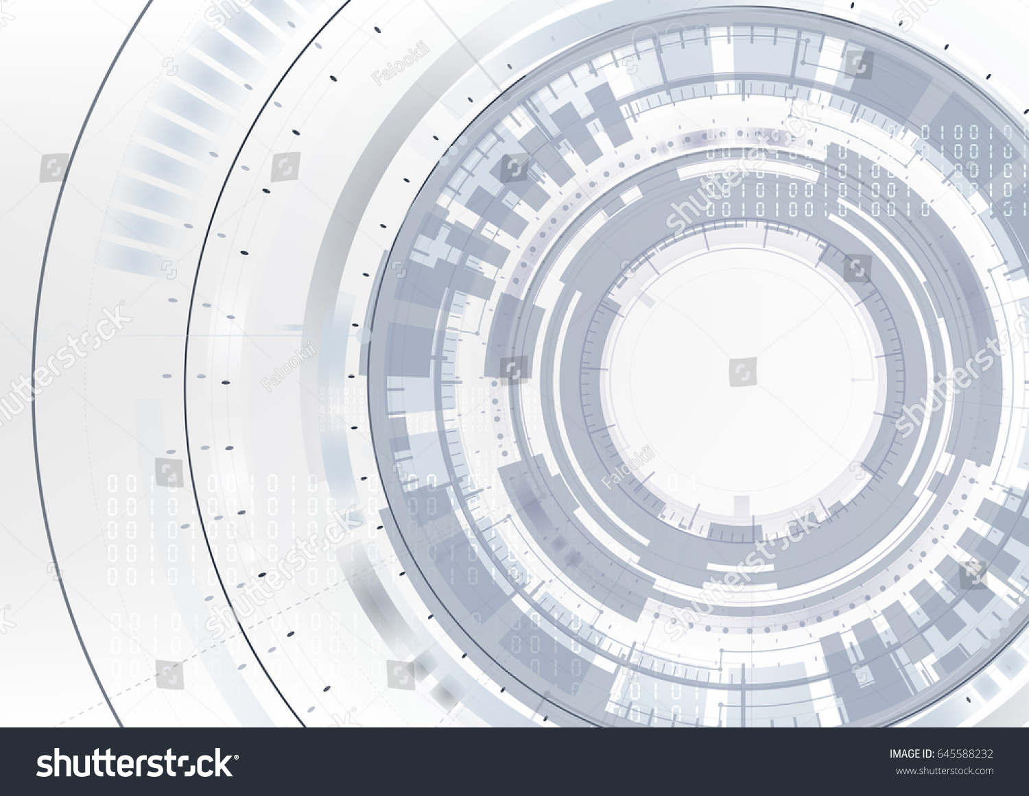 Technological abstract digital circuit network blueprint stock technological abstract digital circuit network blueprint interface background vector design malvernweather Gallery