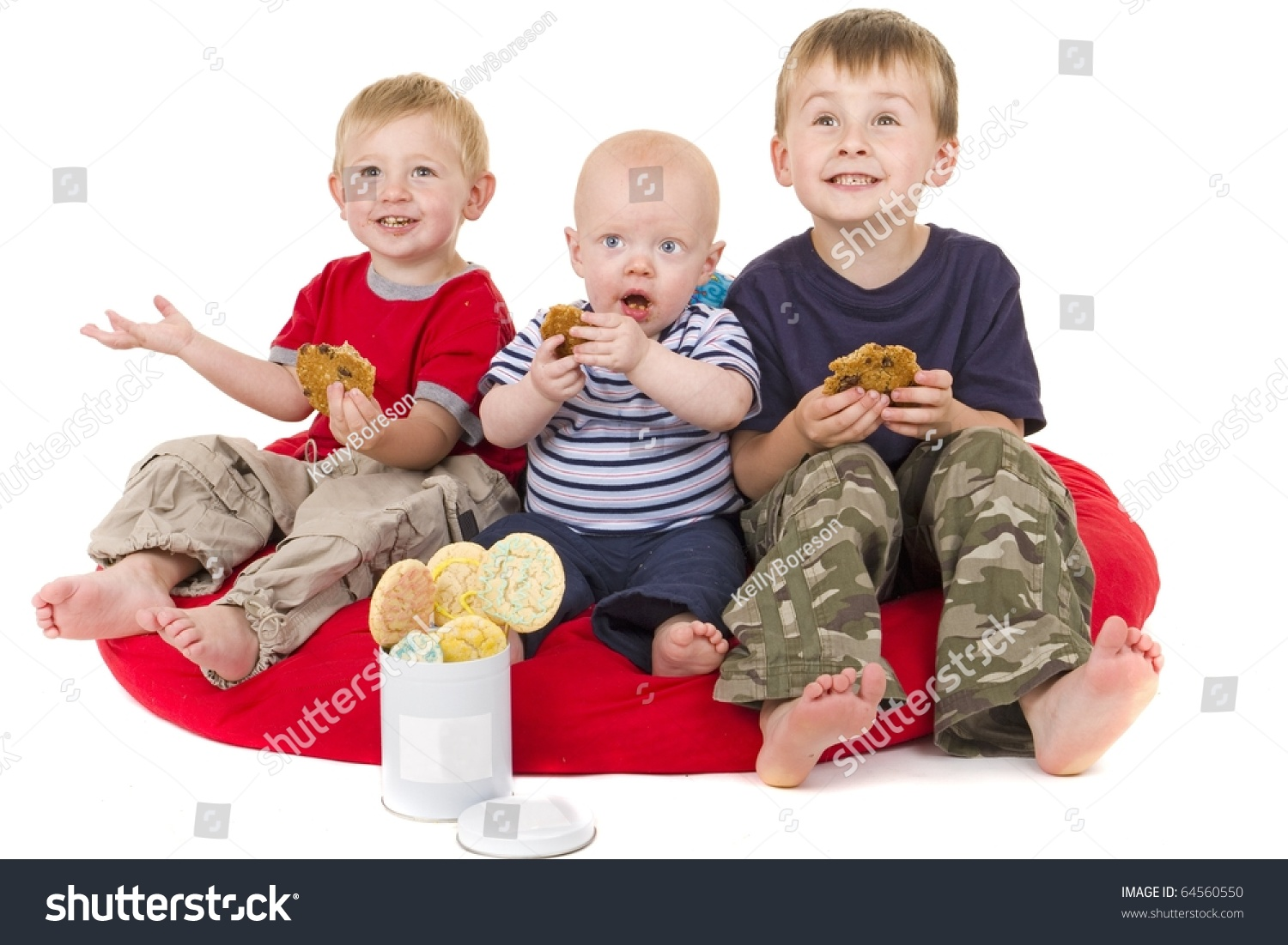 stock-photo-three-little-boys-love-to-ea