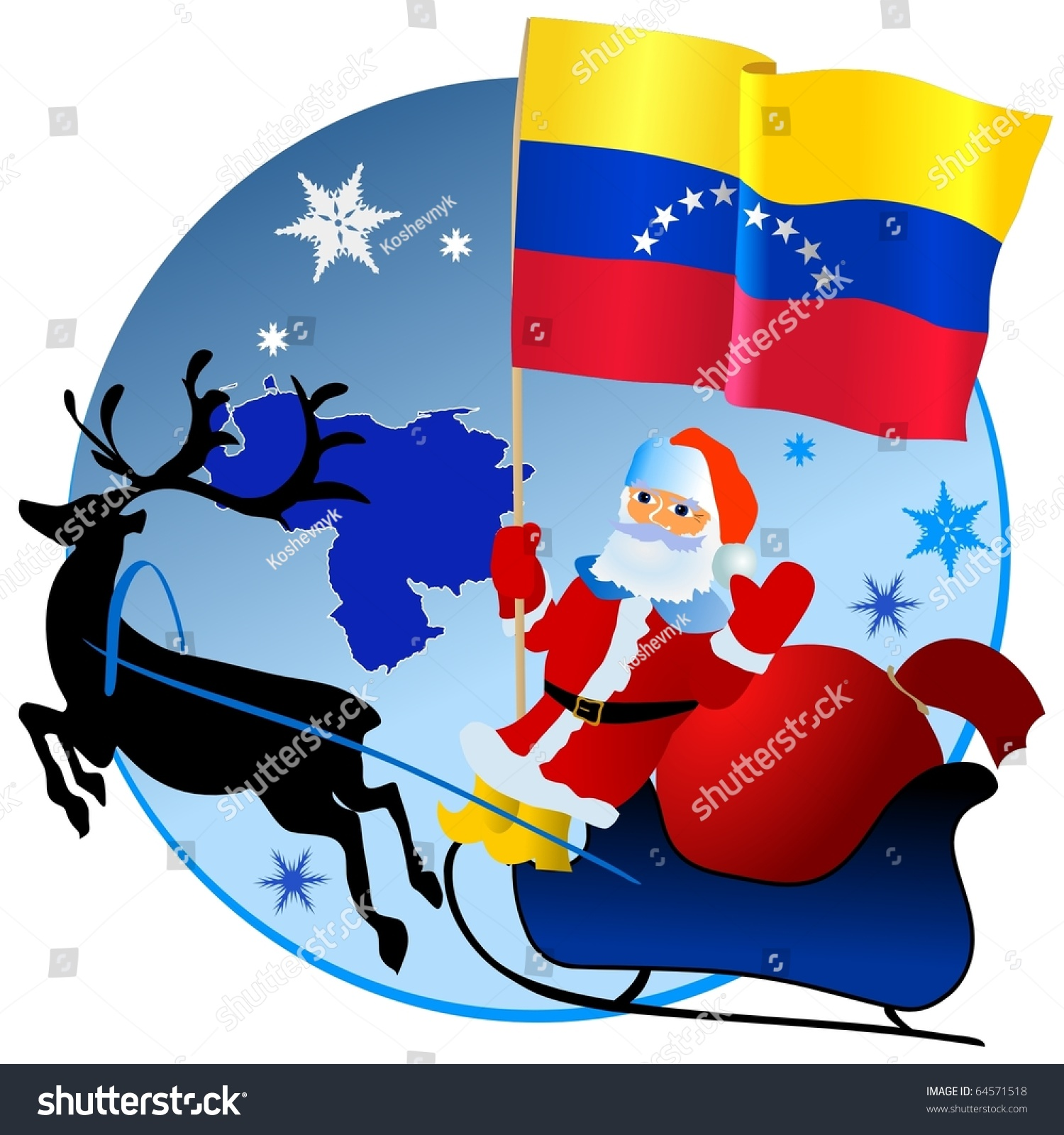 how to say merry christmas in venezuela