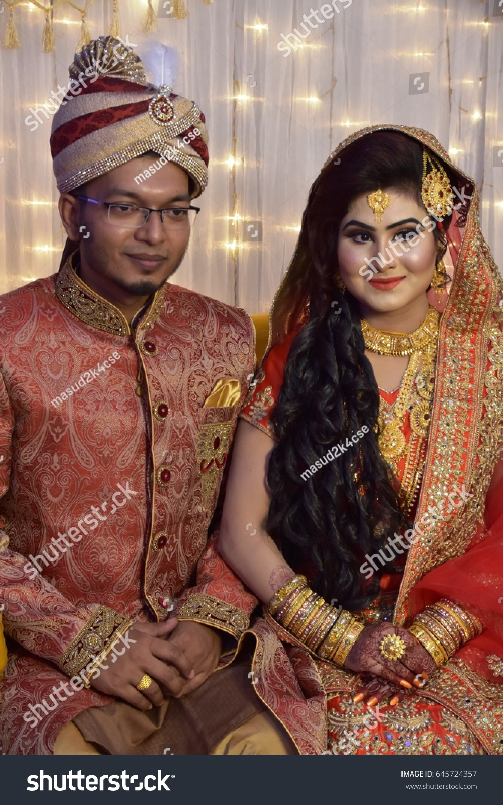 0200 pm 19th may 2017 khilgaon dhaka bangladesh a couple posing for a photo shoot during their weeding program image
