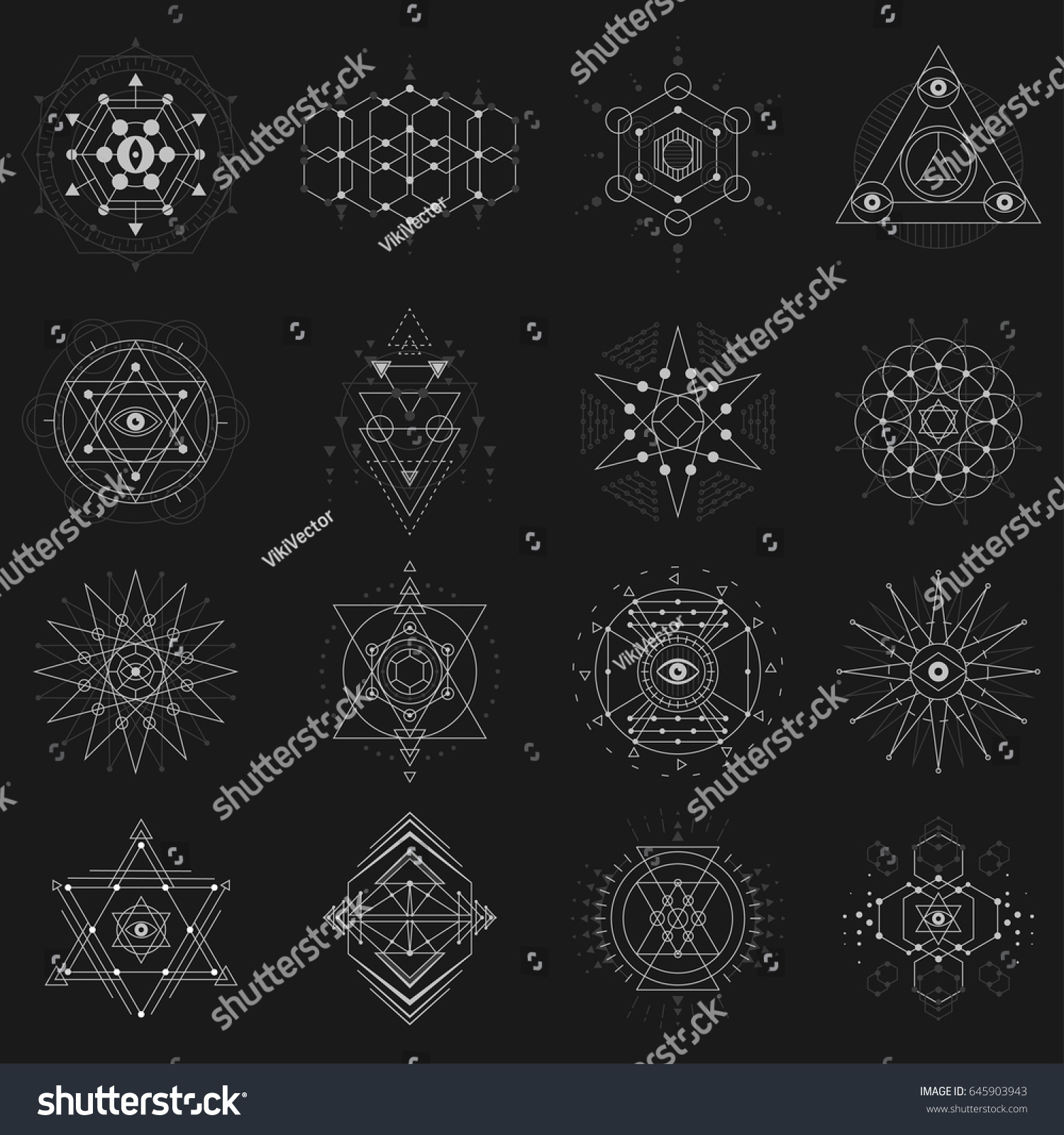 Images of Sacred Geometric Shapes And Meanings - #rock-cafe