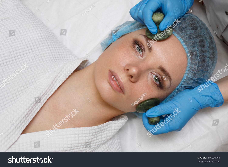 Beauty Salon Spa Antiaging Facial Massage Stock Photo Edit Now