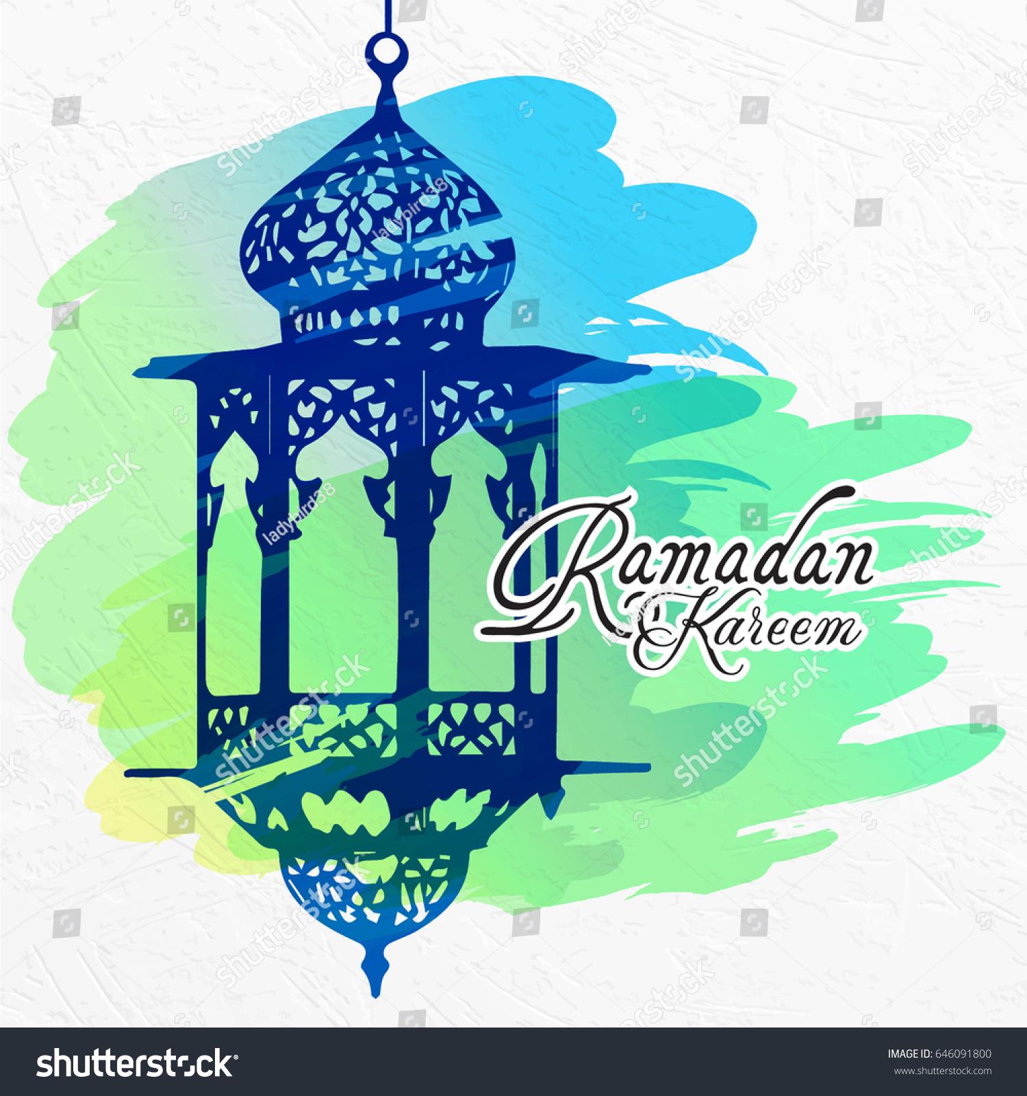 Ramadan greeting card ramadan kareem islamic stock vector 646091800 ramadan greeting card ramadan kareem islamic background vector illustration kristyandbryce Image collections