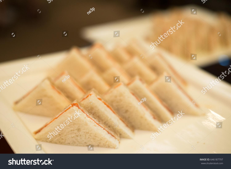 Hotel Coffee Break Cold Cut Platter Stock Photo Edit Now 646187797