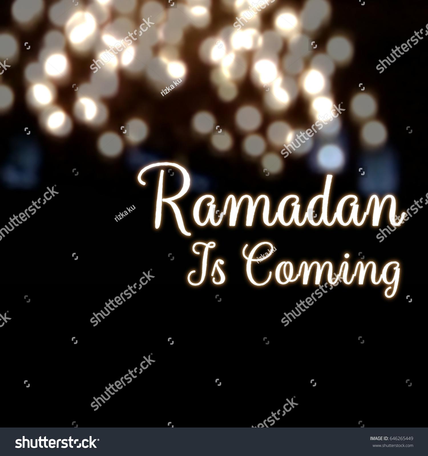 Ramadan month greetings ramadan coming islam fasting month greetings stock illustration m4hsunfo