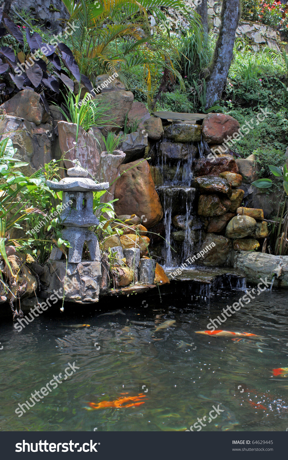 According to chinese believes that koi ponds and water for Koi pond music