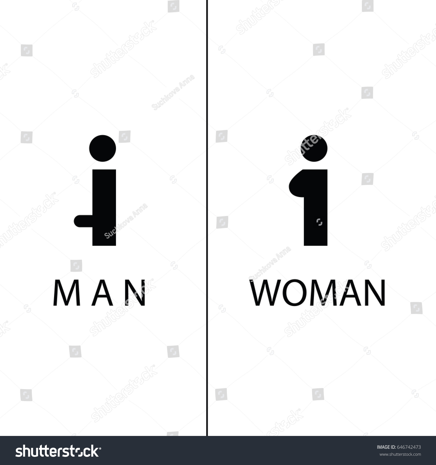 Bathroom Sign Vector Style wc icon toilet sign pure funny stock vector 646742473 - shutterstock