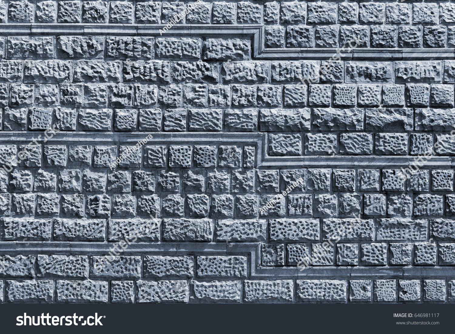 Decorative Stone Tiles Wall Rough Dimpled Stock Photo (Royalty Free ...