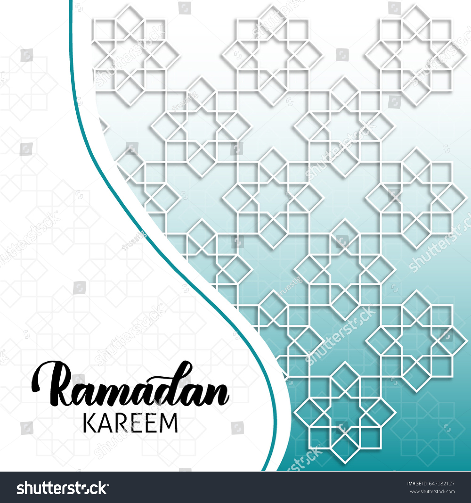 Ramadan kareem background ramadan kareem greeting stock vector ramadan kareem background ramadan kareem greeting card with muslim islamic art web template stopboris Choice Image