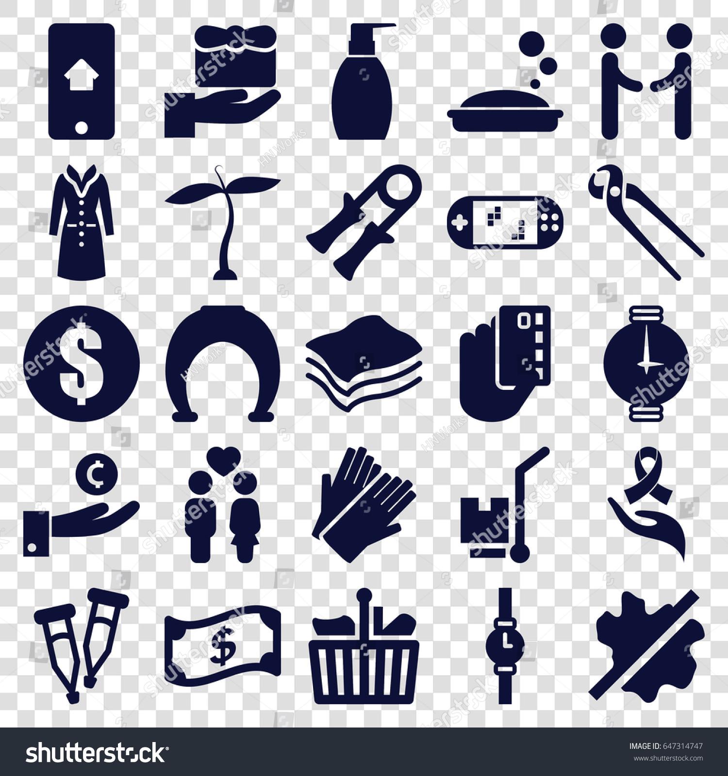 Hand icons set set 25 hand stock vector 647314747 shutterstock hand icons set set of 25 hand filled icons such as plant soap biocorpaavc