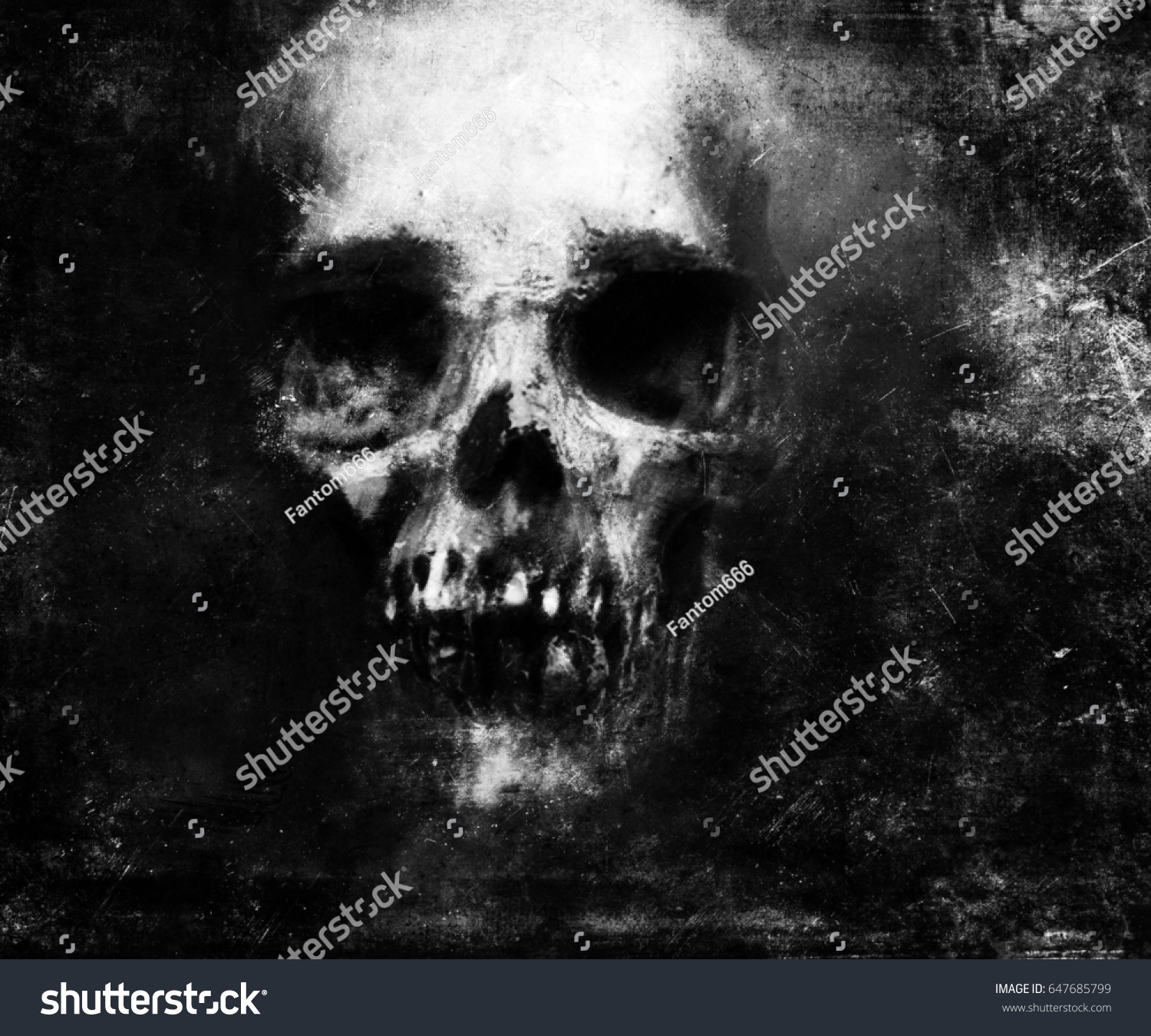 Cool Wallpaper Halloween Grunge - stock-photo-scary-grunge-skull-wallpaper-halloween-background-647685799  Collection_528212.jpg