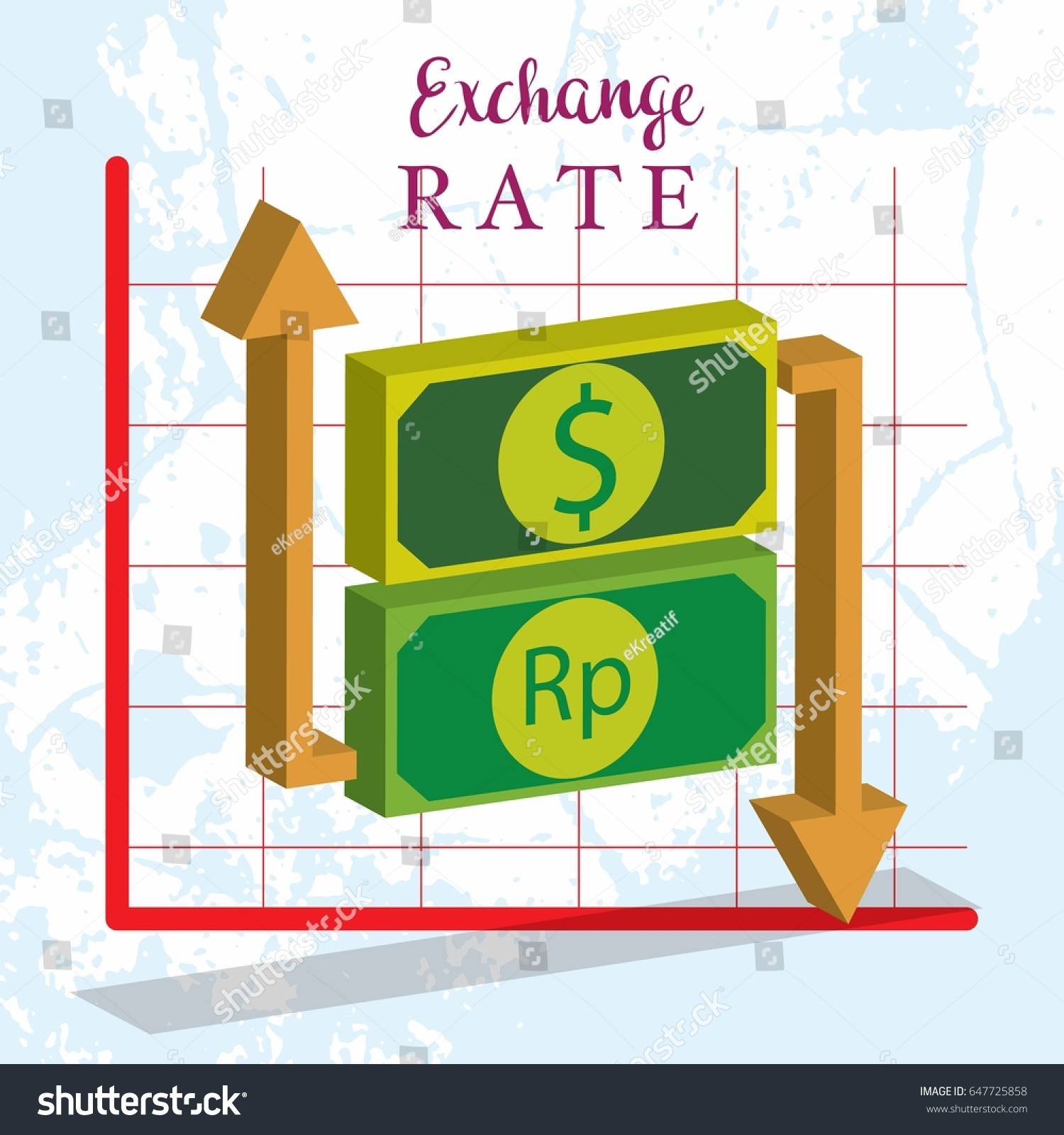 Exchange rate currency dollar euro yen stock vector 647725858 exchange rate currency dollar euro yen and pound sterling concept vector illustration geenschuldenfo Image collections