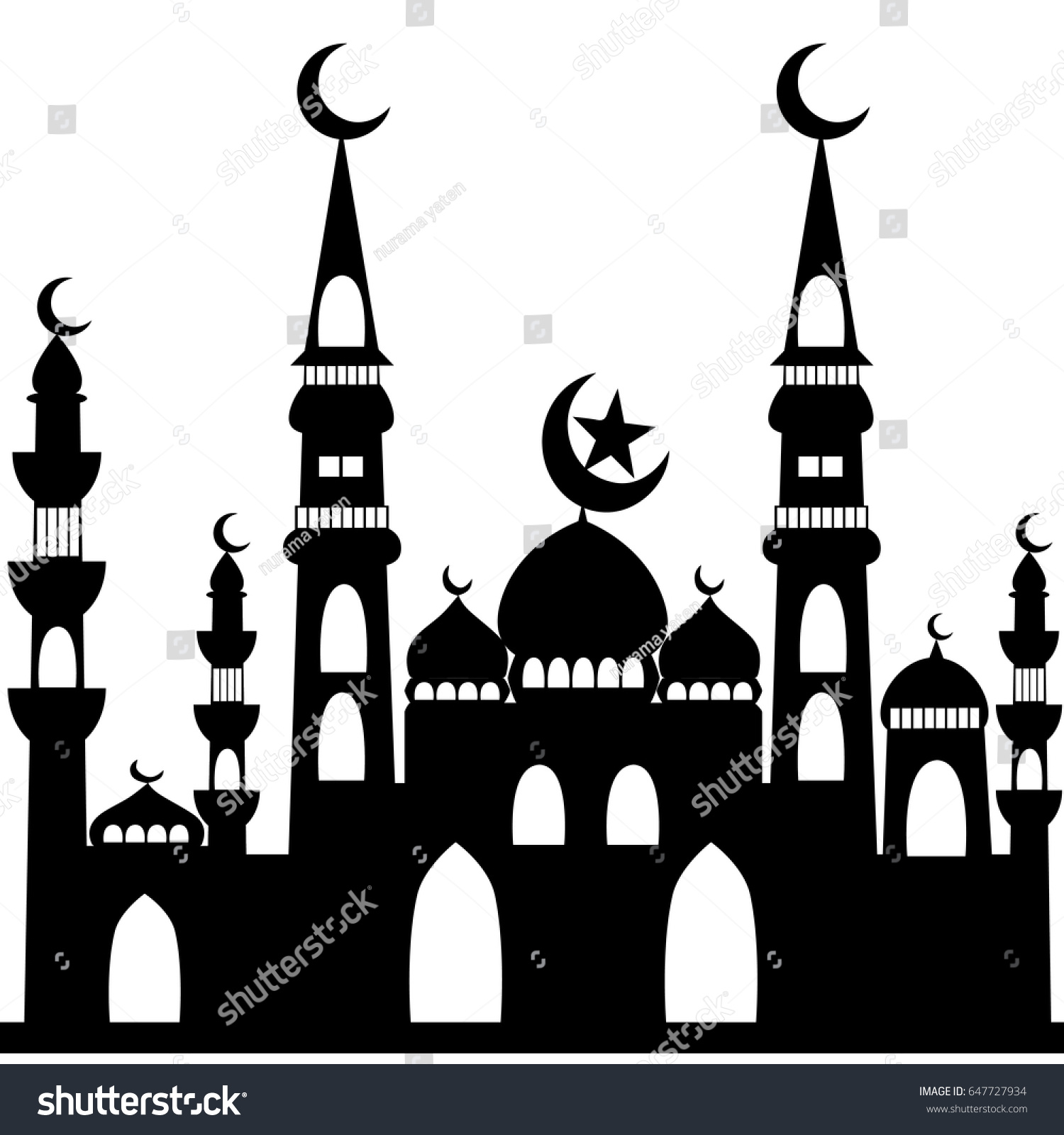 94  Gambar Masjid Vector Hd Kekinian