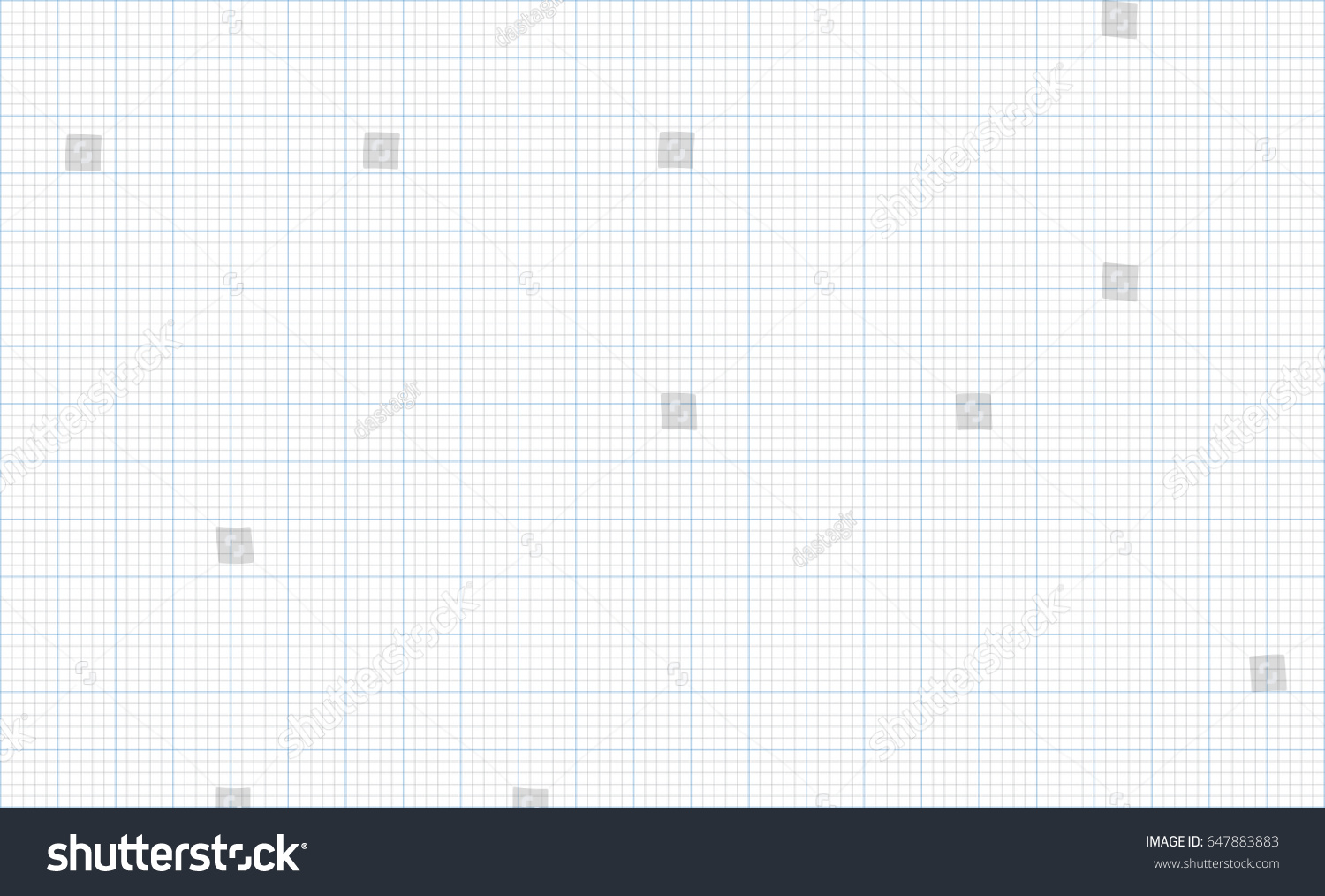 Graph Paper Grid Stock Vector 647883883 Shutterstock