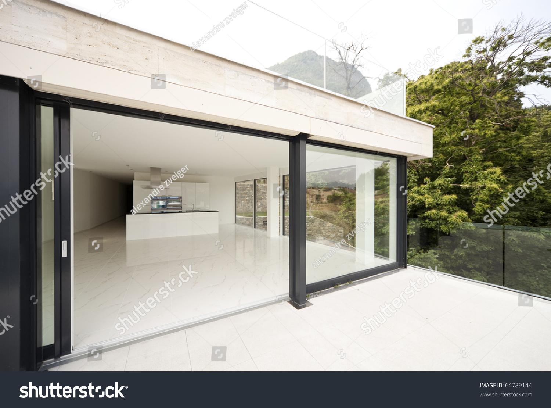 Beautiful house balcony stock photo 64789144 shutterstock - Beautiful houses with balcony ...