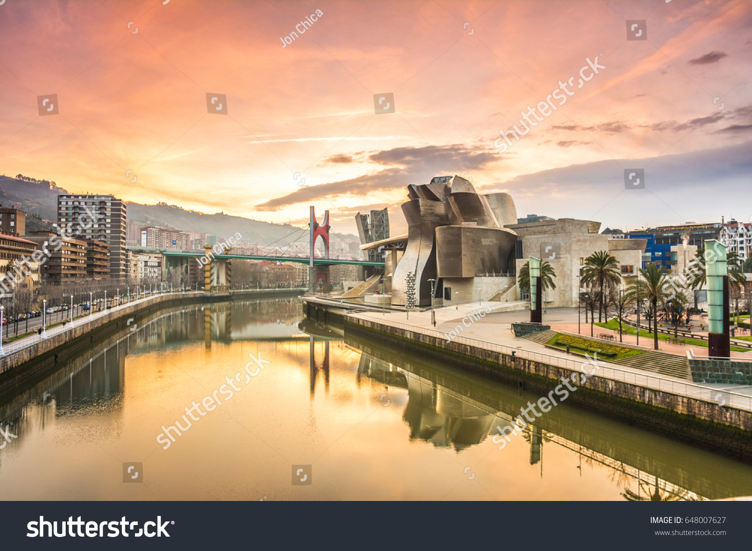 bilbao spain february 12 2017 morning stock photo 648007627