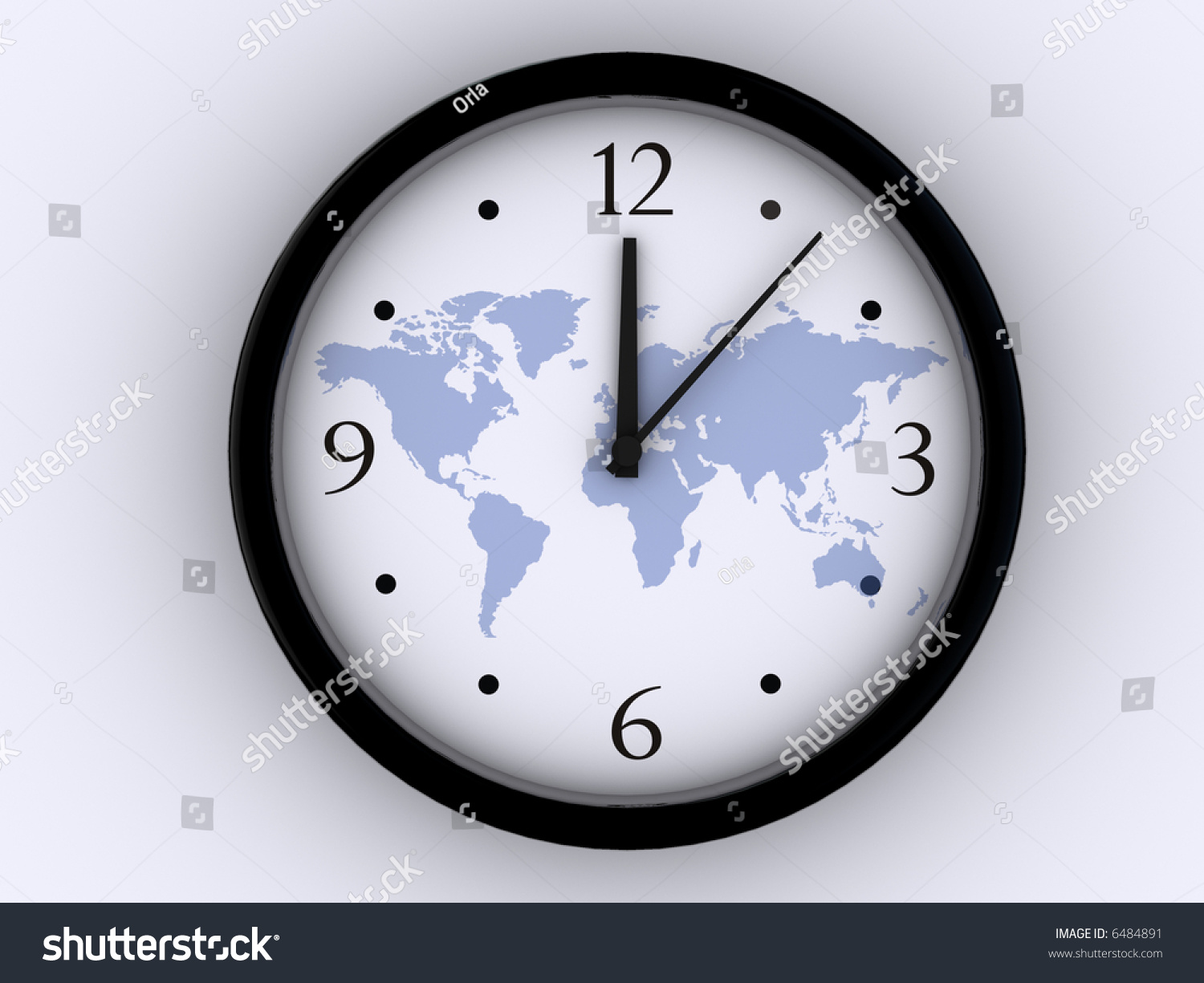 Simple clock world map on background stock illustration 6484891 simple clock world map on background stock illustration 6484891 shutterstock gumiabroncs Images