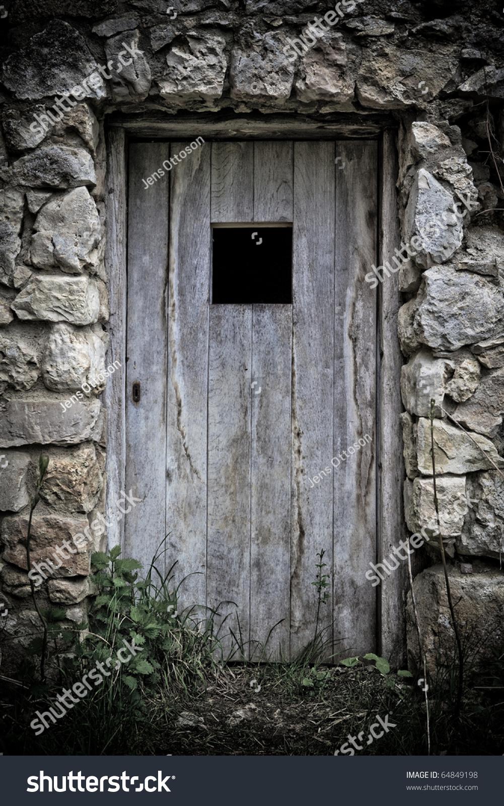 Old Door Castle Ruin Stock Photo 64849198 Shutterstock