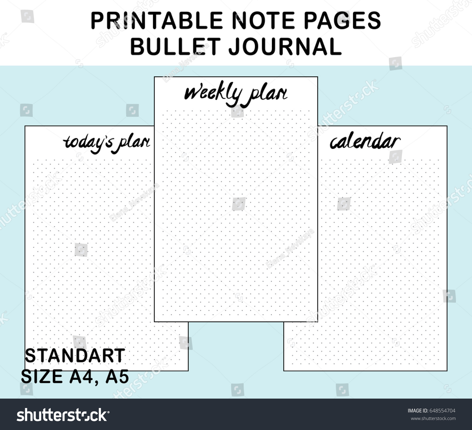 photo relating to Printable Note Pages known as Webpages Bullet Sizing