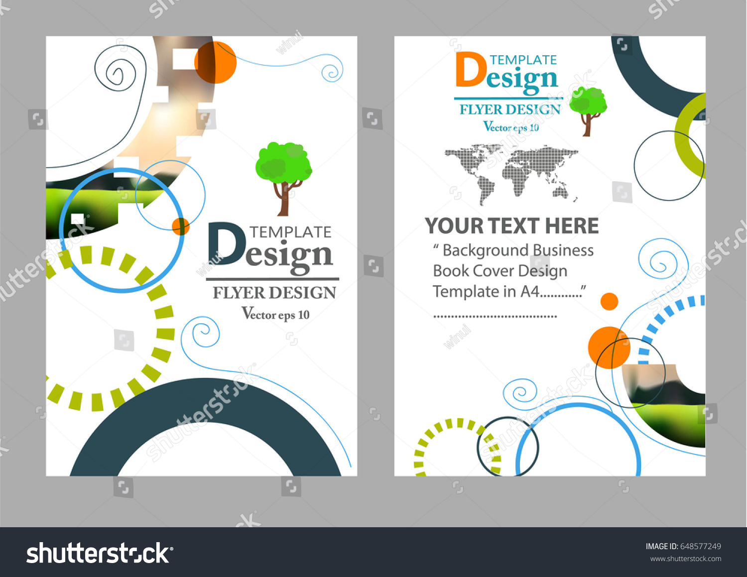 magazine cover design corporate business template for brochure report catalog creative poster