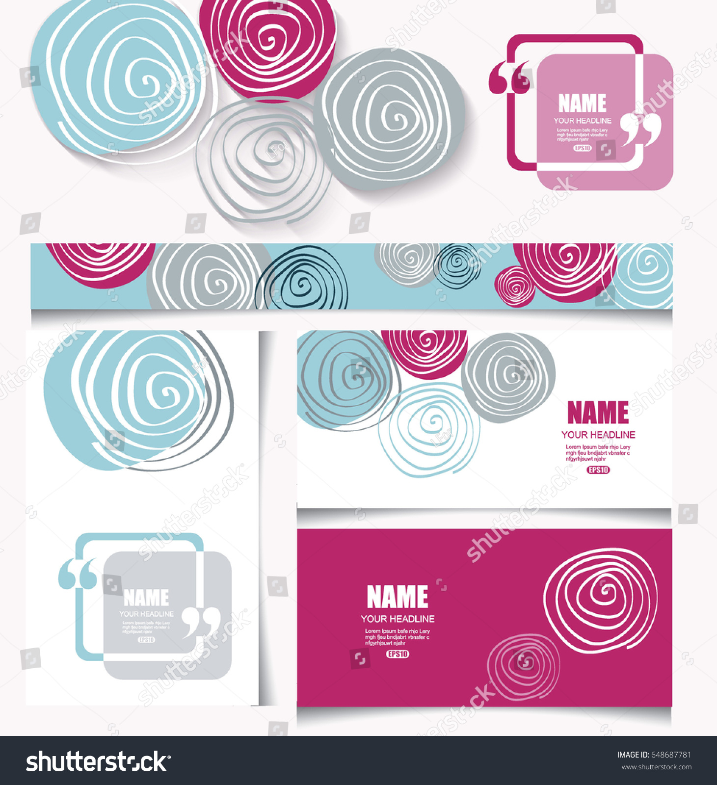 Wedding invitation business cards gallery free business cards colorful card set flower design can stock vector 648687781 colorful card set with flower design can magicingreecefo Choice Image