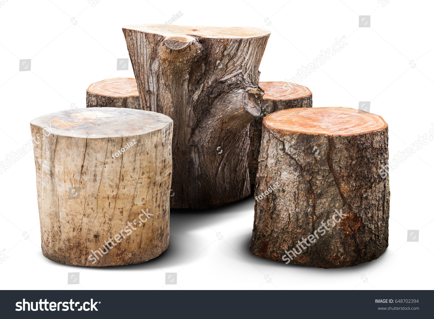 natural chair table garden furniture mad stock photo edit now rh shutterstock com log wood chips longwood christmas trail