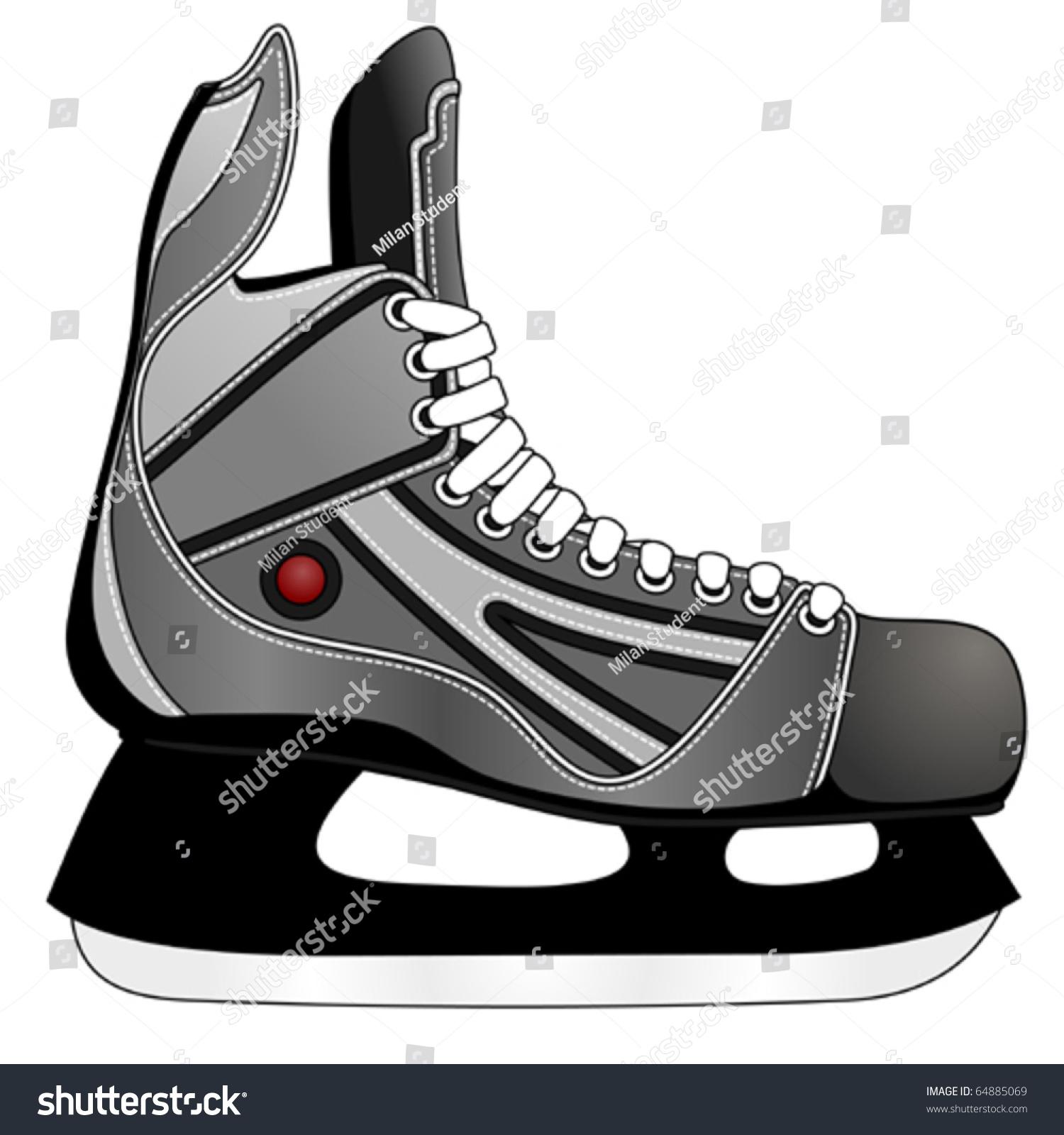 how to break in ice hockey skates
