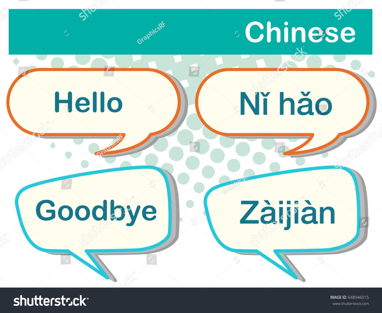Greeting words chinese language illustration stock vector 648946015 greeting words in chinese language illustration m4hsunfo Gallery