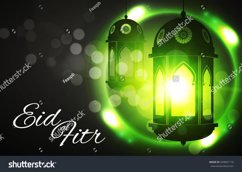 Most Inspiring Eid Mubarak Eid Al-Fitr Feast - stock-vector-eid-al-fitr-islamic-holiday-muslim-feast-eid-mubarak-ramadan-kareem-eid-said-shining-lanterns-649061116  HD_364298 .jpg