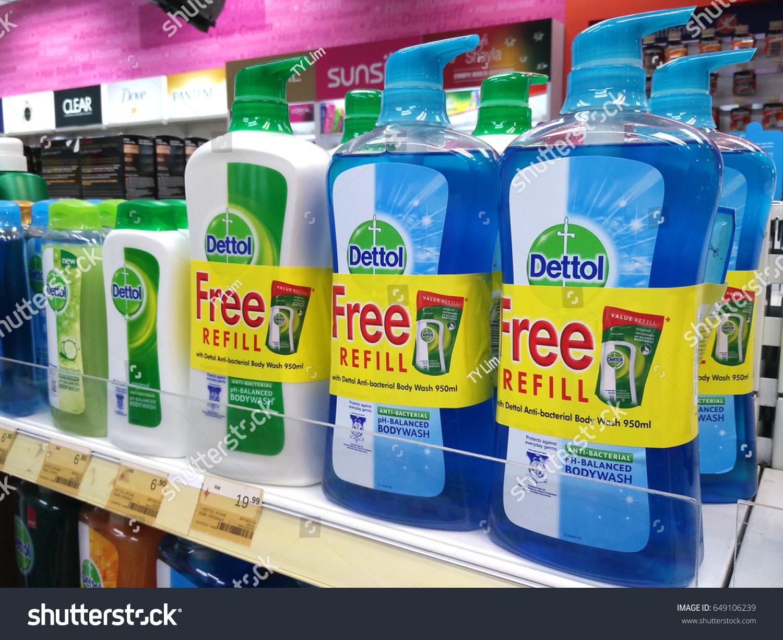 Penang Malaysia May 11 2017 Dettol Stock Photo Edit Now 649106239 Detol Bodywash Body Wash On Supermarket Shelf