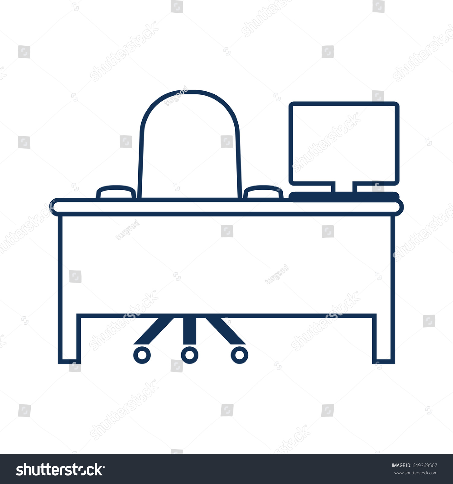 Symbol comfort workplace thin line icon stock vector 649369507 symbol of comfort workplace thin line icon of productivity and concentration stroke pictogram graphic biocorpaavc Image collections