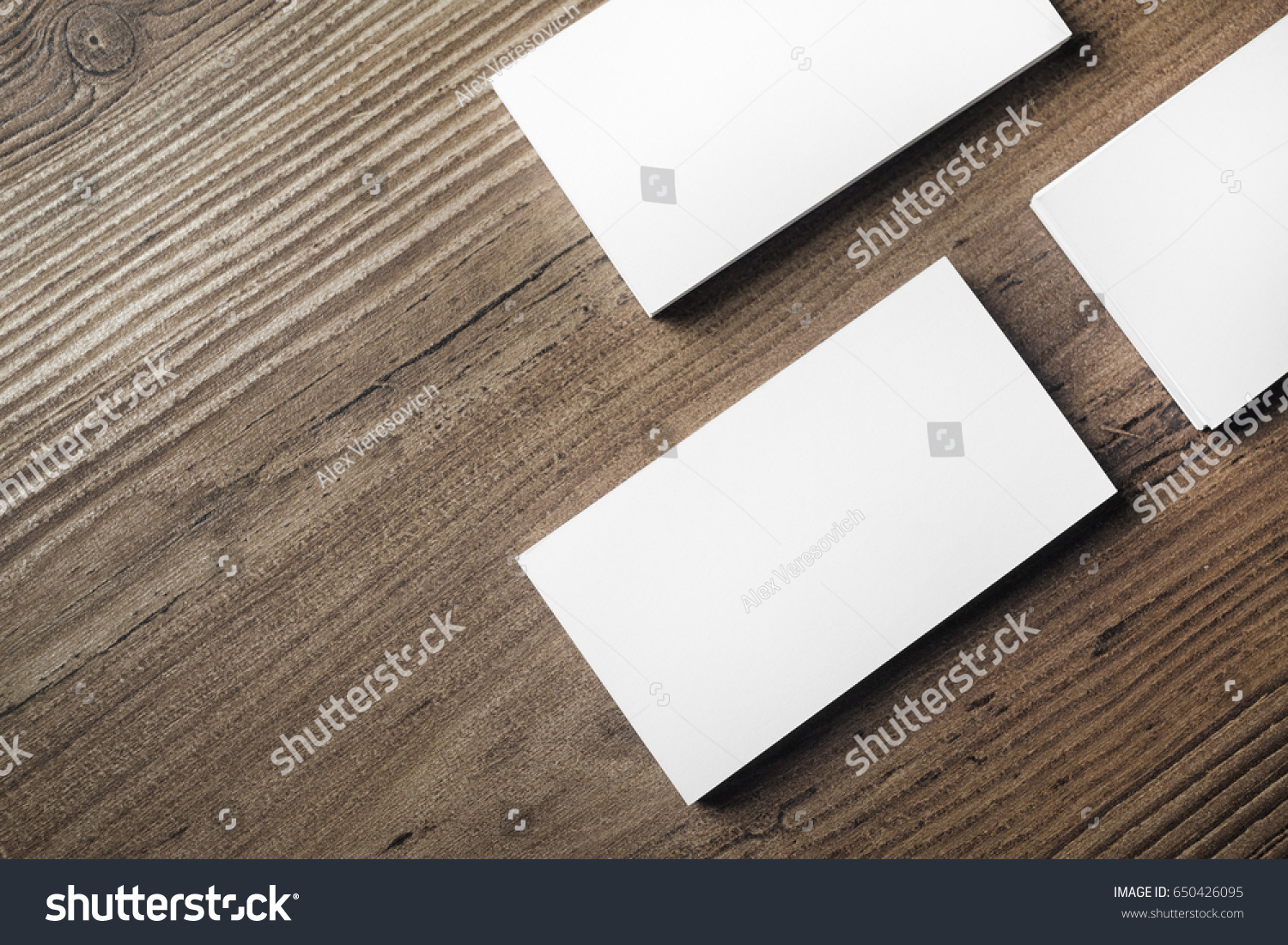 Photo blank business cards on wood stock photo 100 legal photo of blank business cards on wood table background template for id mock up reheart Gallery