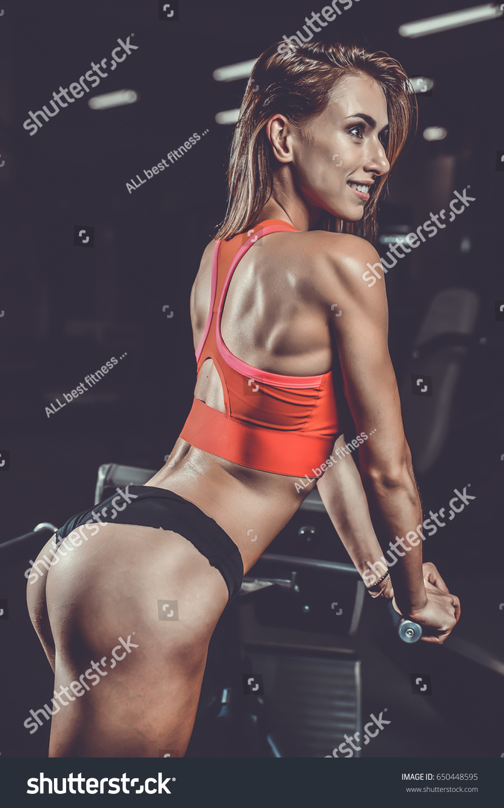 pretty fitness sexy model luxury ass stock photo (download now
