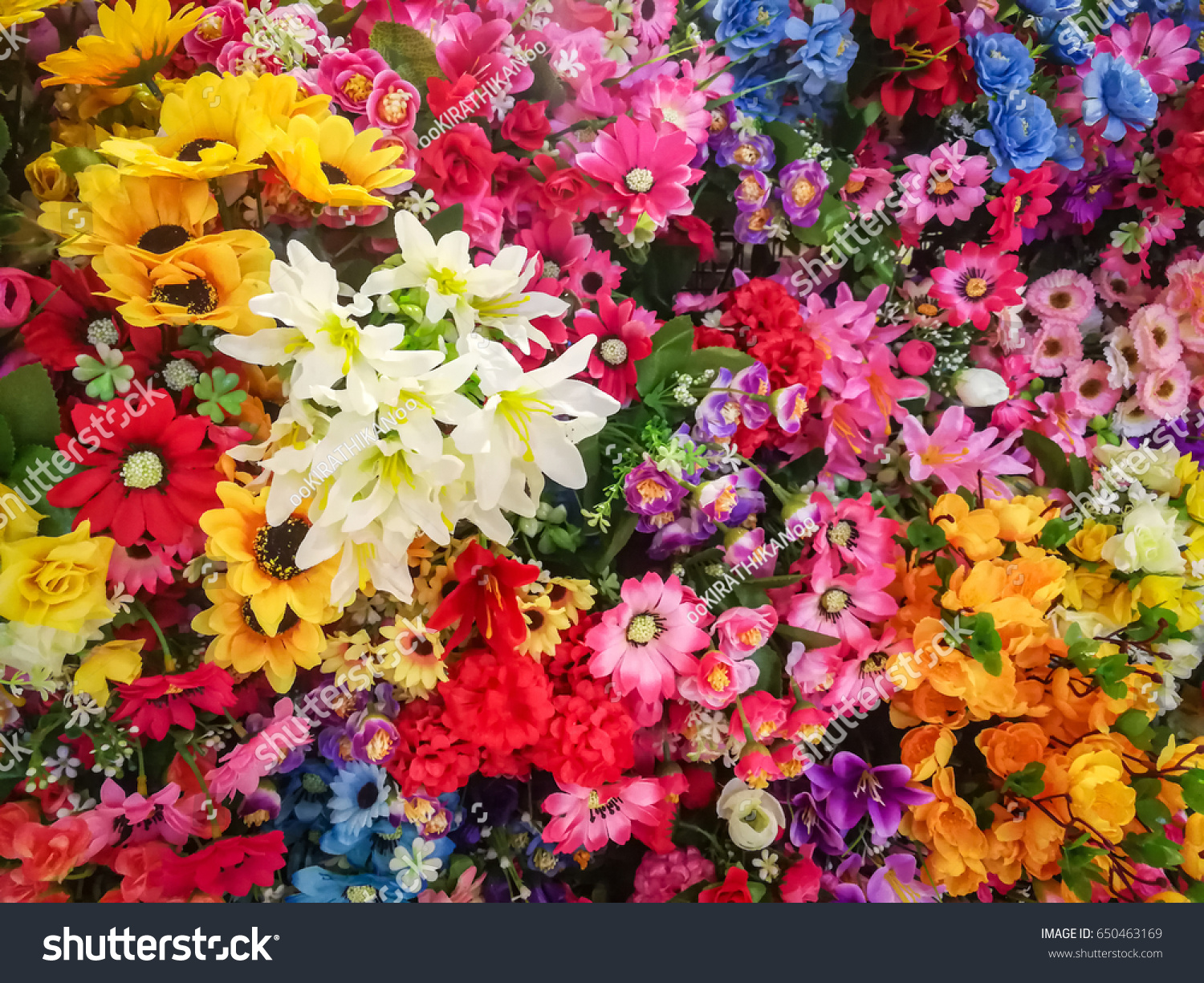 Fake flowers beautiful background decor plastic stock photo edit fake flowers beautiful background for decor plastic flowers izmirmasajfo