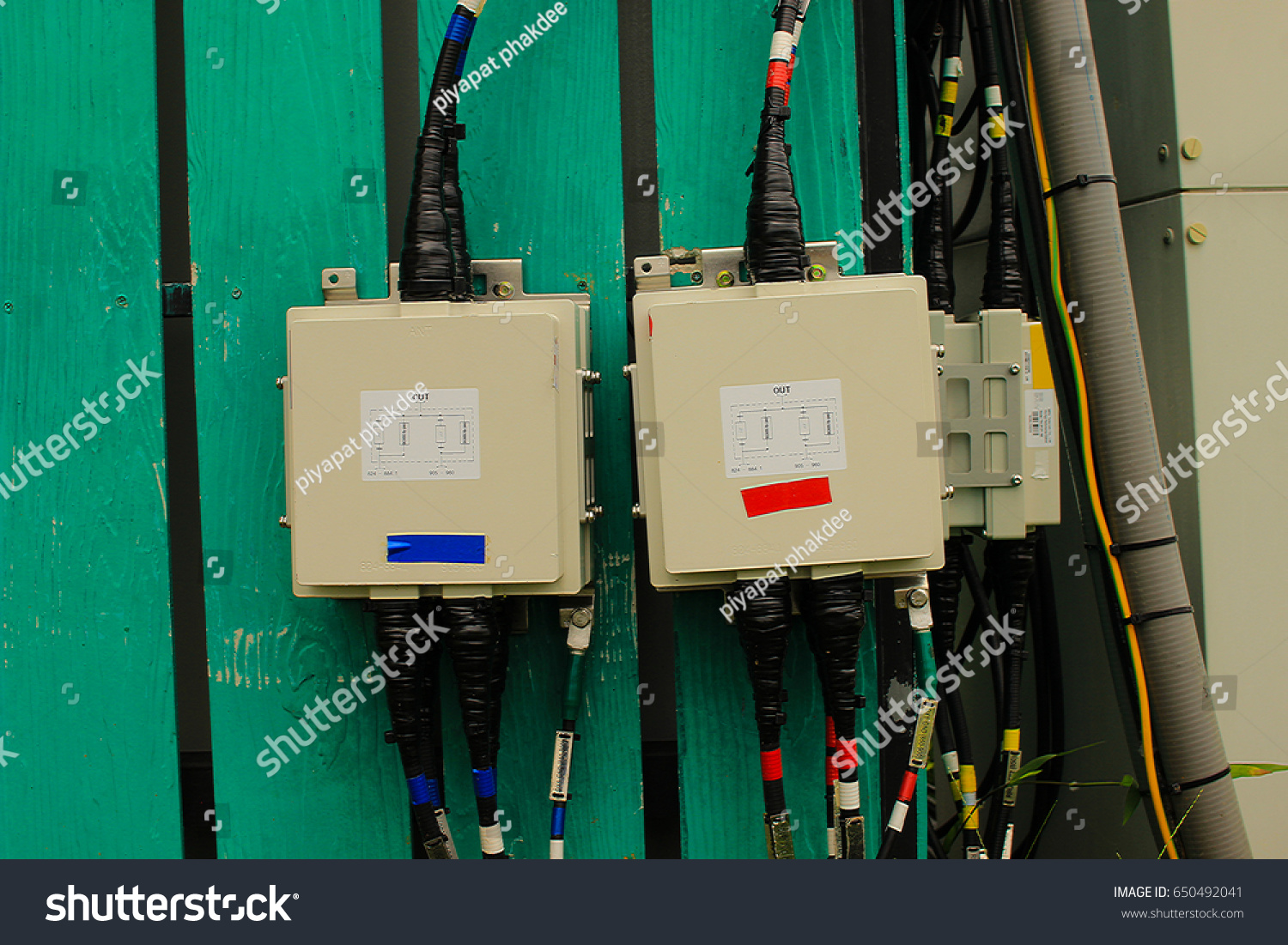 fuse box of safety