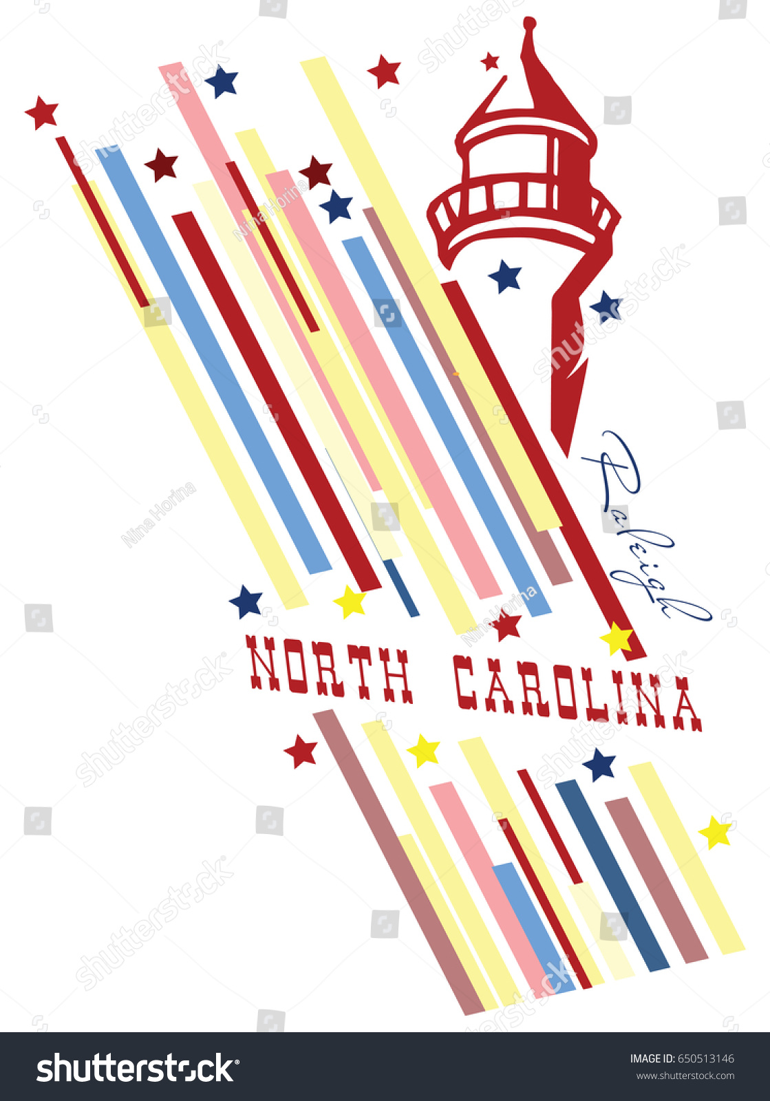 Creative banner symbol state north carolina stock vector 650513146 creative banner with the symbol of the state of north carolina buycottarizona