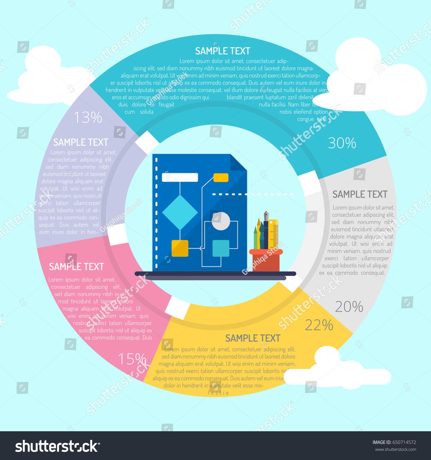 Flowchart Logic Infographic Stock Vector (Royalty Free) 650714572 ...