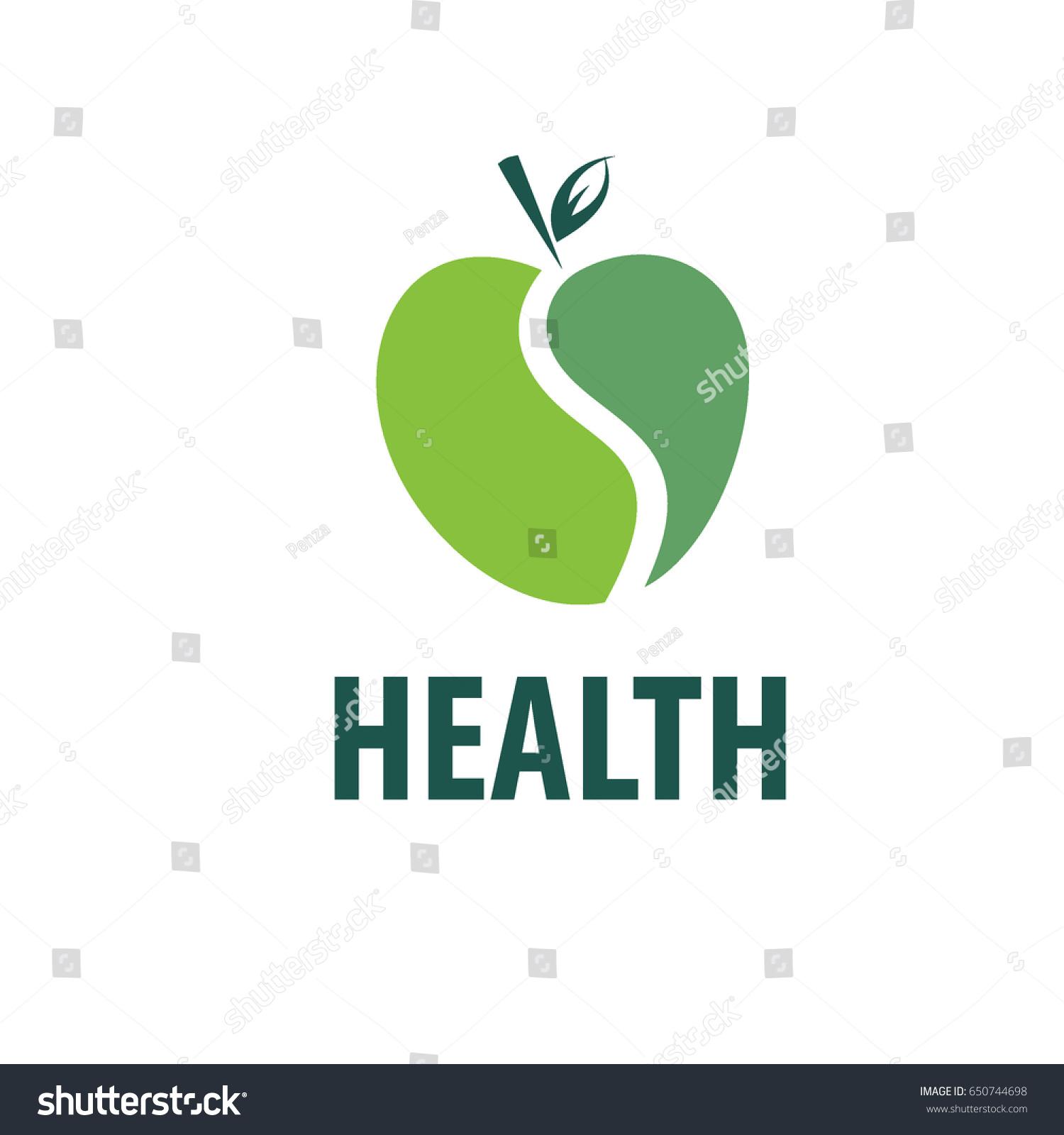 Vector Green Apple Logo Isolated Creative Stock Photo (Photo, Vector ...