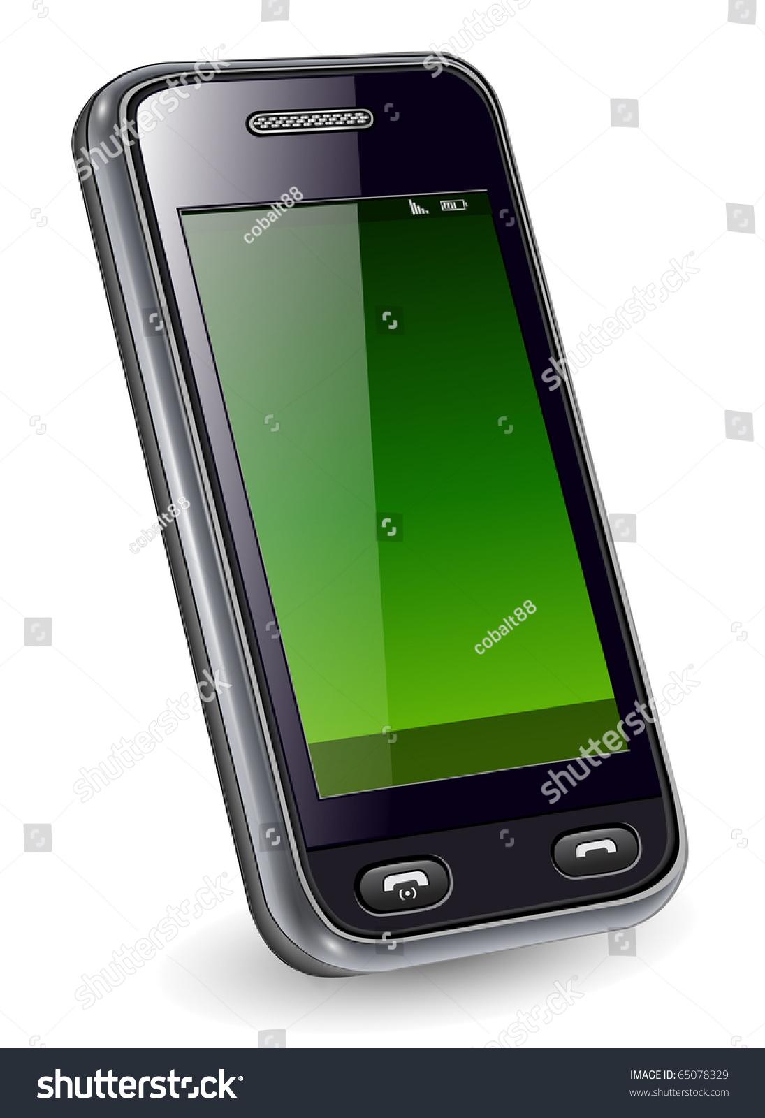 Mobile Phone, Smartphone Original Design, Vector ...
